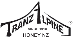 TranzAlpine Honey New Zealand - since 1910 - logo