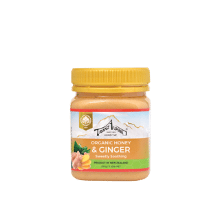 Organic honey fusion with ginger