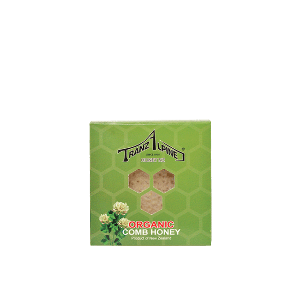 TranzAlpineHoney shop comb honey 100g