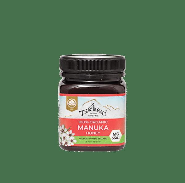 Organic manuka honey MGO550+ UMF15+